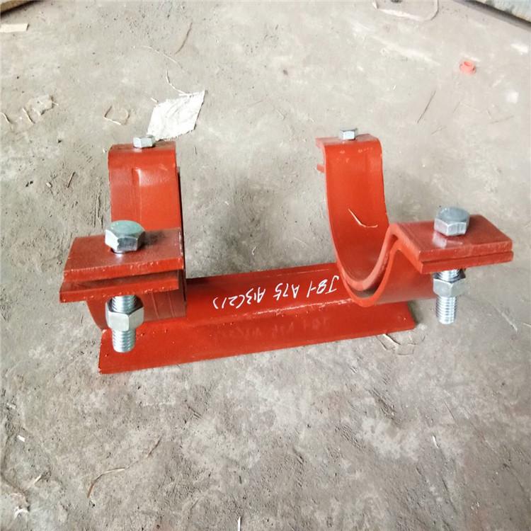 万信支吊架产品如人品 不锈钢管件 托辊橡胶圈