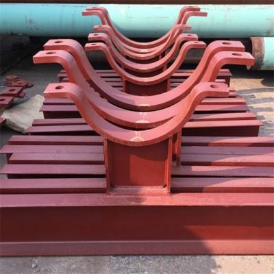 蛭石隔热管托 双螺栓管夹 整定弹簧组件 U型管卡 支座