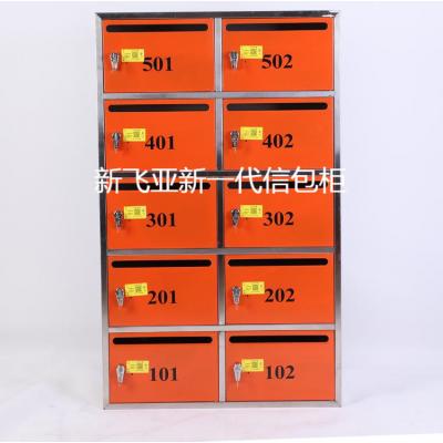 新款式不锈钢智能信包柜