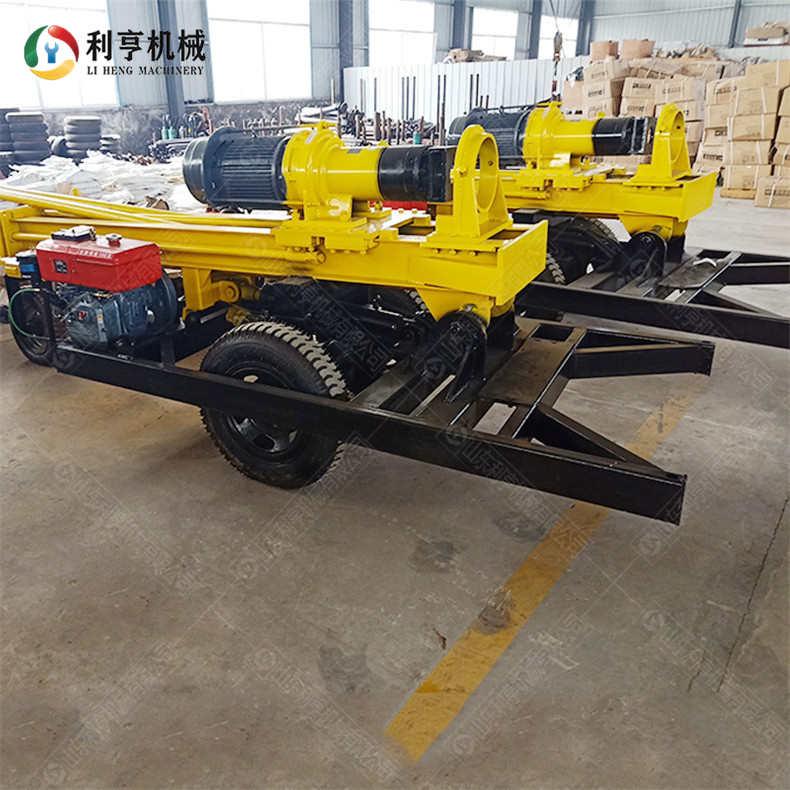 KQZ-200D气动打井机 柴电两用型工民钻井机械