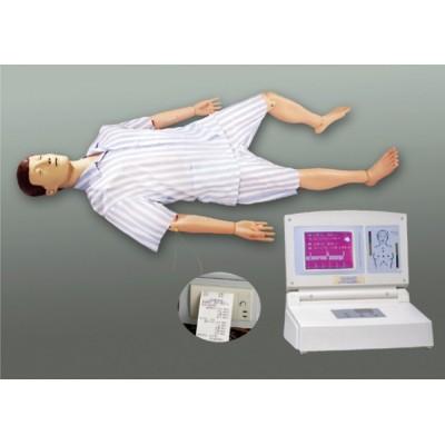 高级多功能急救护理训练模拟人(心肺复苏、基础护理二合一)