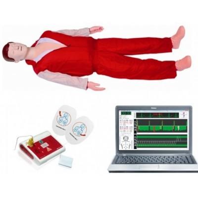 高级心肺复苏与除颤模拟人(心肺复苏、除颤二合一)