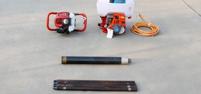小型便携式地质勘探钻机 汽油款背包岩芯钻机