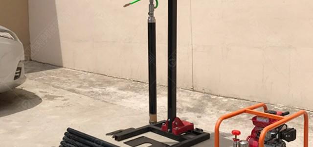 供应30m小型地质勘探钻机 立式背包钻机详情参数