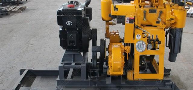 130m移机款液压钻机 回转式地质勘探工民水井机械