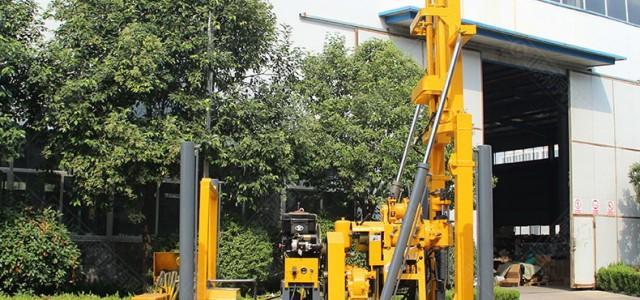 130m回转式履带液压钻机 地质勘探工程钻孔机