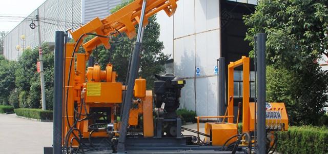 履带款液压岩芯钻机 200m回转式工程用钻机