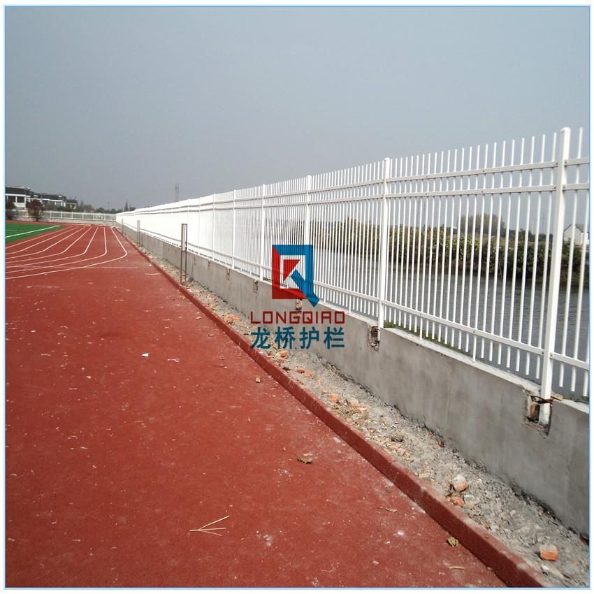 汉中工厂围墙护栏 汉中锌钢围墙护栏 庭院围栏 龙桥护栏